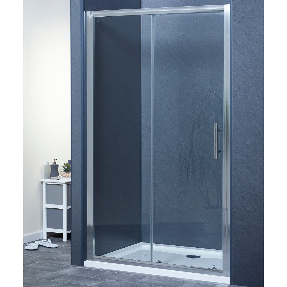 Shower Tray with Drying Area and Waste for Shower Enclosure Cubicle 1200x700mm