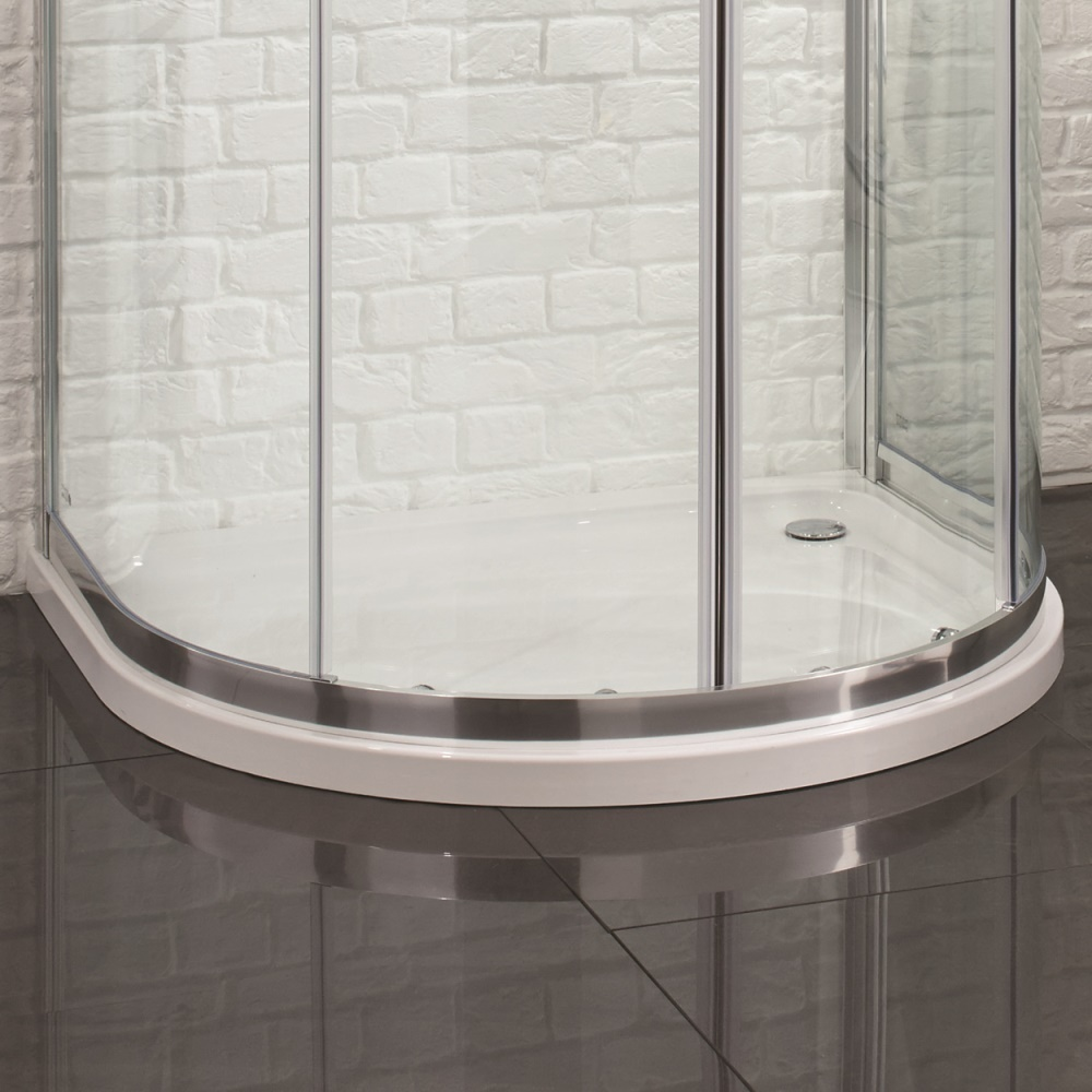 Cool U Shaped Shower Enclosure Images - Bathroom with Bathtub ...