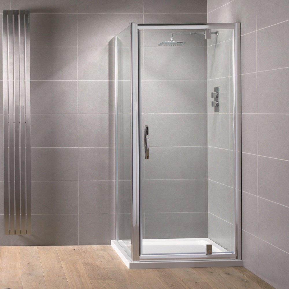 Aquadart Venturi 8 Pivot Shower Door 900mm