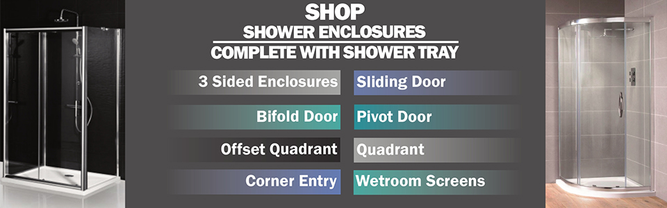 Shop Complete Shower Enclosure and Tray Packages
