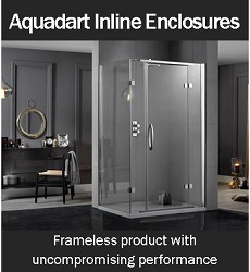 Aquadart Inline Shower Enclosures