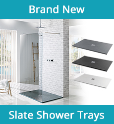 Aqua-I Slate Effect Shower Trays
