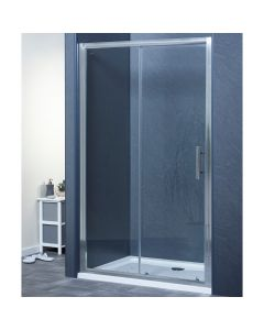 Aqua-I6 Single Sliding Shower Door 1200mm x 1850mm High