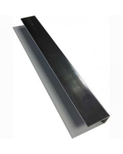 Proplas Silver PVC Starter / End Trim H2800mm D8mm