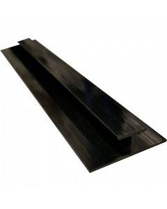Proplas Black PVC H Joint H2800mm D8mm