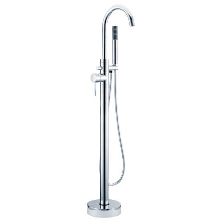 Electra Freestanding Bath Shower Mixer & Kit