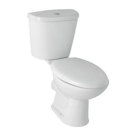 Roma Vital Close Coupled Toilet with Toilet Seat